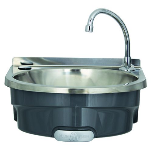 Large Polycarbonate Basin with hands free push control image
