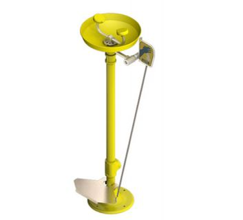 Pedestal Eye Wash Hand and Foot Operated image
