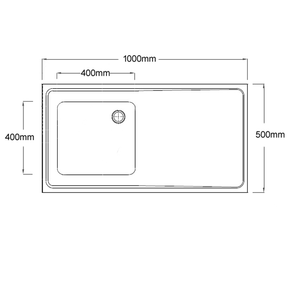 htm64 inset sink top dimensions
