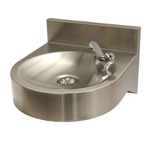 Drinking Fountain Wall Mounted With WRAS Approved Tap image