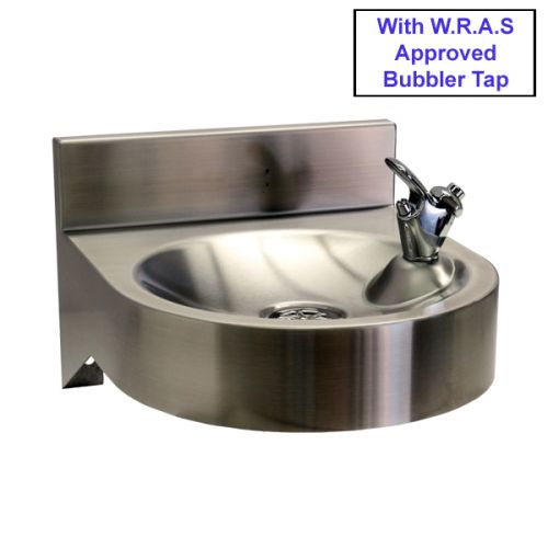 Stainless Steel Drinking Fountain With WRAS Approved Tap image