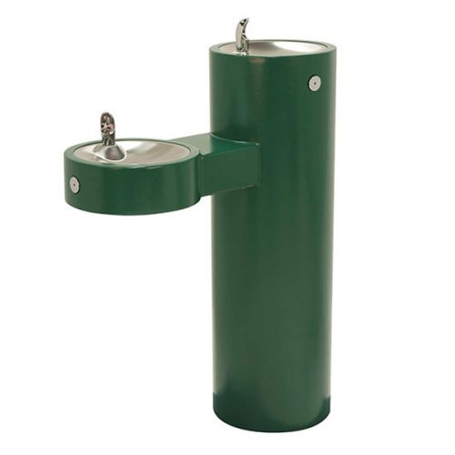 Contemporary Dual Level Outdoor Drinking Fountain image