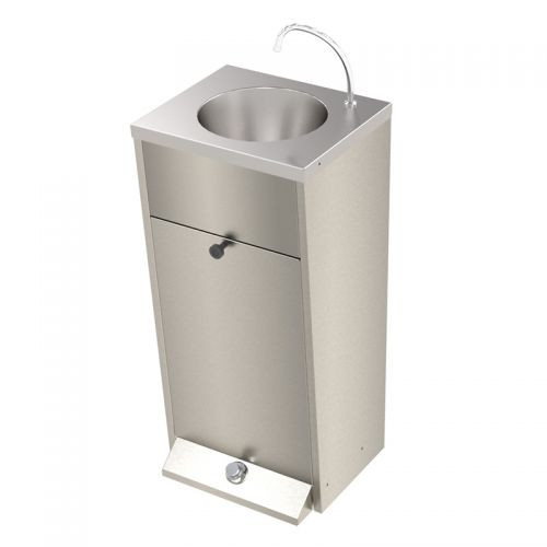Foot Operated Shrouded Wash Basin image