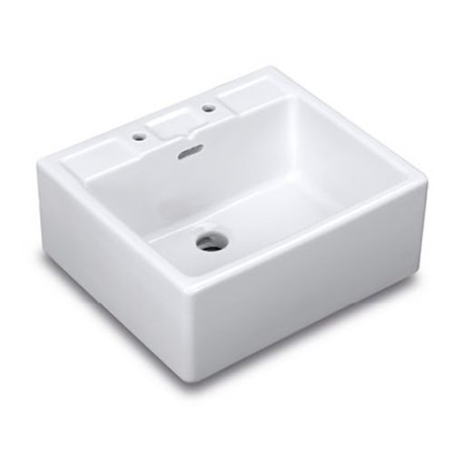Fireclay Shelf Sink image