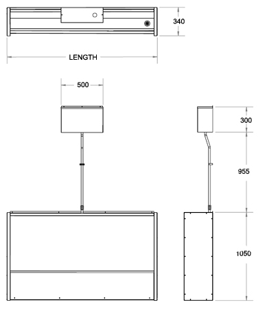 Floorstanding Slab Urinal Dimensions