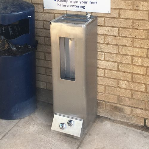 Foot Operated Bottle Filler and Drinking Fountain image
