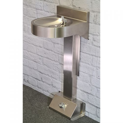 Foot Operated Drinking Fountain image
