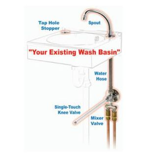 Basin Hands Free Conversion Kit image