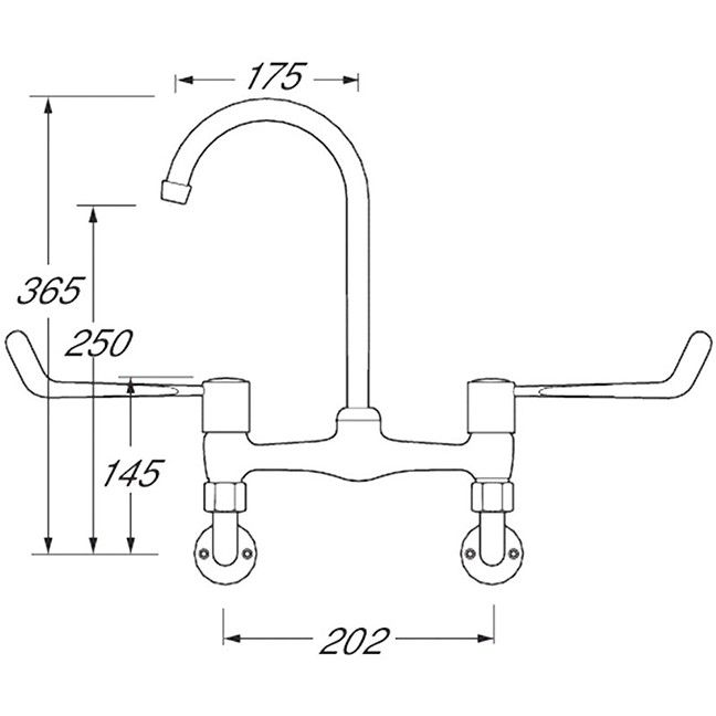 Bridge Lever Sink Mixer image