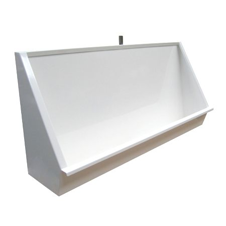 Stainless Steel Coloured Urinal Trough