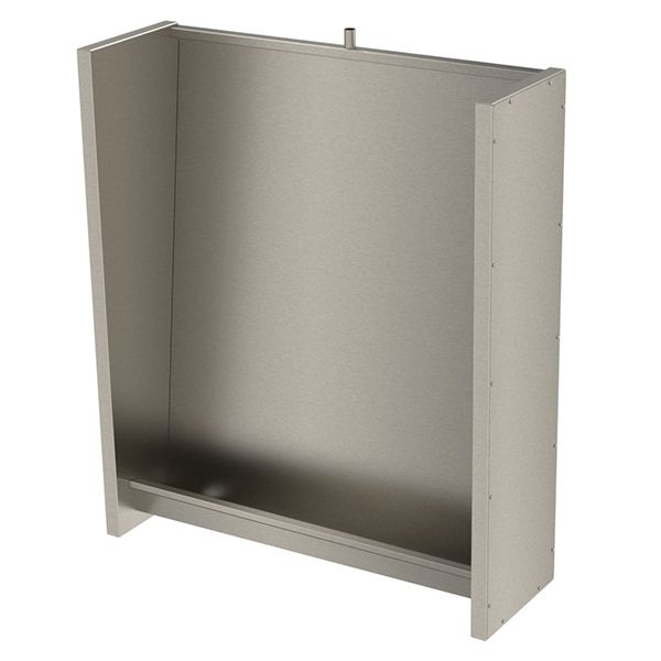 Floor Recessed Slab Urinal Stainless Steel image