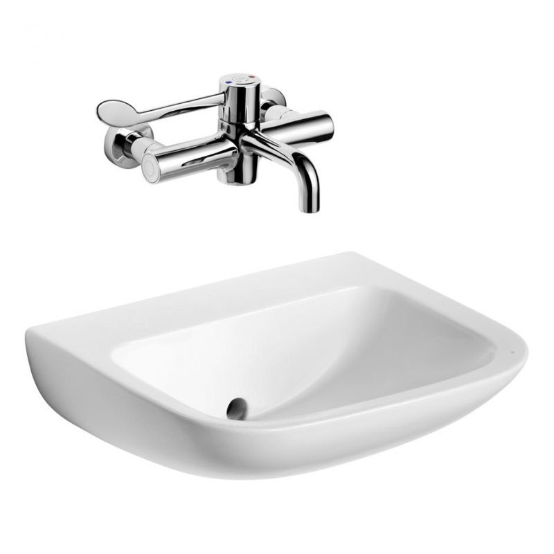 HTM64 Contour 21 Hospital Wash Basin