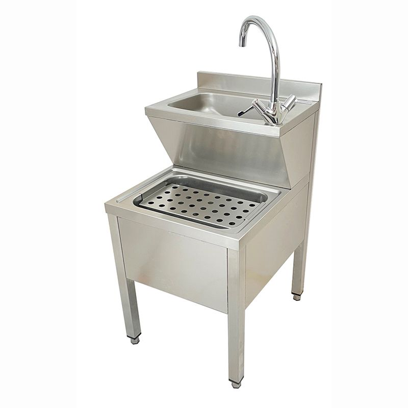 Hospital Janitorial Unit Combined Bucket Sink Hand Wash