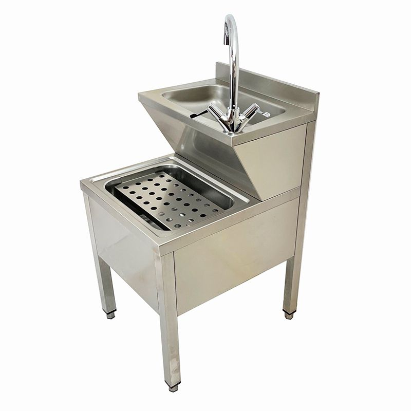 Janitorial Sink : Janitorial Unit Stainless Steel Combined Bucket Sink Hand Wash.