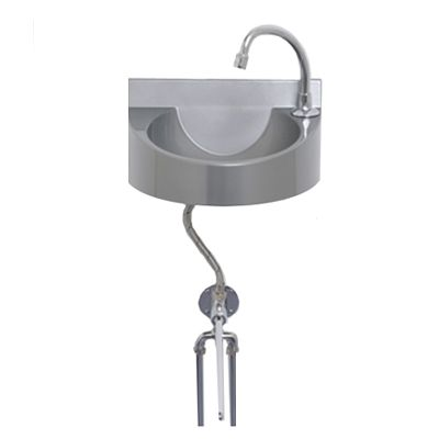 Knee Operated Polycarbonate Wash Basin