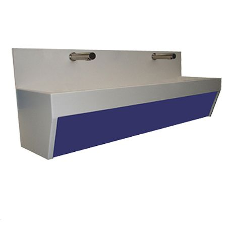 Wall Mounted Splashback Style Solid Surface Wash Trough