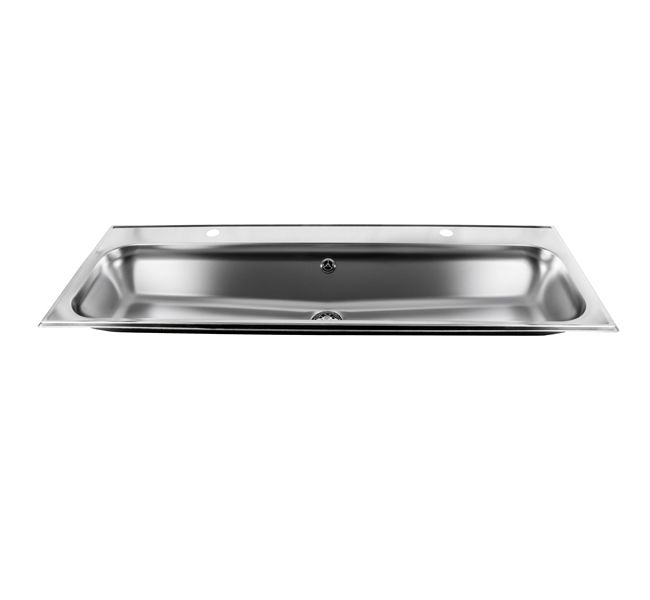 Stainless Steel Inset Wash Trough