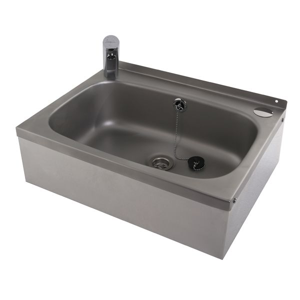 Stainless Steel Wash Basin With Sensor Tap