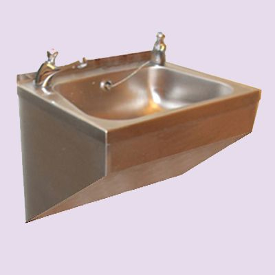 Wash Basin Wall Hung : Wall Mounted Shrouded Wash Basin - Washware Essentials