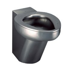 Stainless Steel Back To Wall Toilet