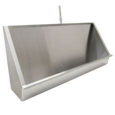 stainless steel trough urinal