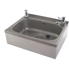 washbasin with lever taps