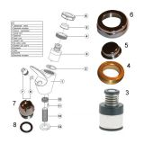 bubbler repair kit for drinking fountains