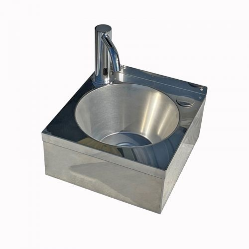 Stainless Steel Mini Wash Basin With Infra Red Tap image