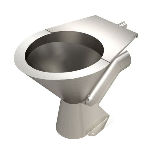Stainless Steel Pedestal Toilet image