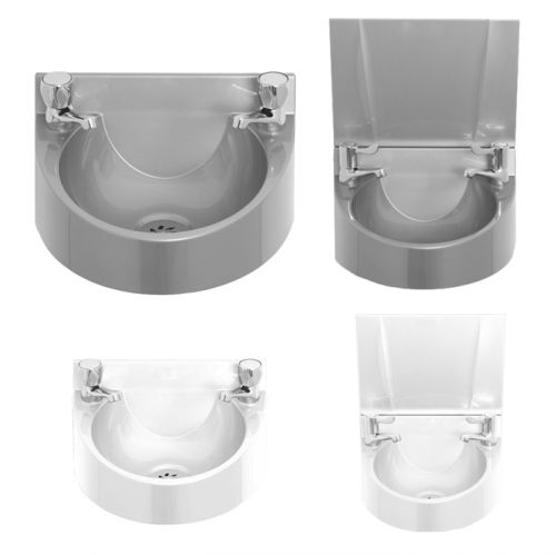 Polycarbonate Wash Basin With Taps image