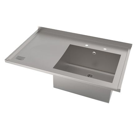 Single Bowl Single Drainer Catering Sink Tops image