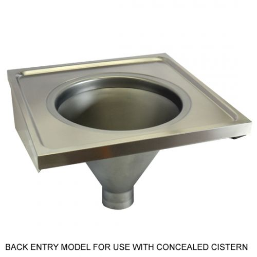 Sluice Sink Wall Mounted Model Du Hospital Pattern Slop Hopper