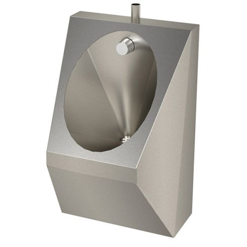 Stainless Steel Shrouded Bowl Urinals image