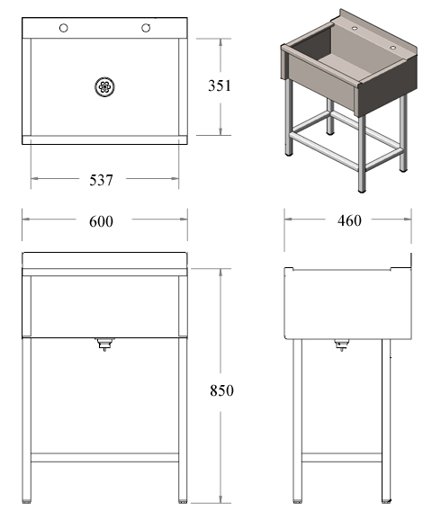 Stainless Steel Sink Dimensions : stainless steel belfast sink dimensions