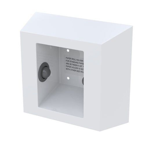 Ligature Resistant Surface Mounted Toilet Roll Holder image
