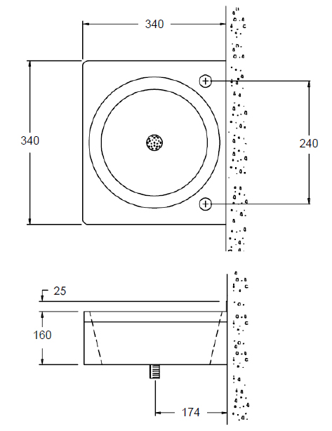image of compact wash basin sizes