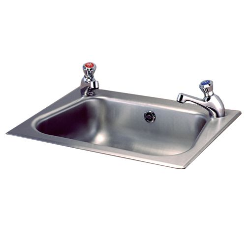 Stainless Steel Inset Hand Washbasin image